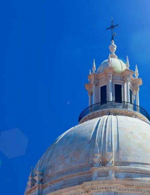 National Pantheon - Church of Santa Engracia in  Lisbon, Portugal